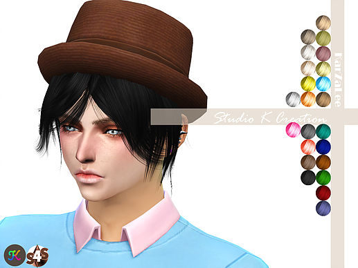 Animate hair 50 - Takki for male and female by Karzalee