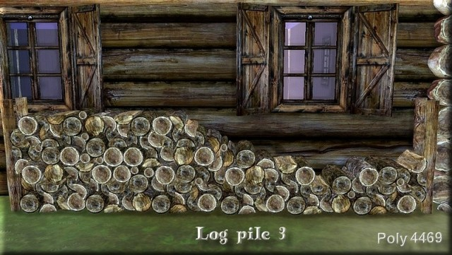 Log Pile Set by Asyli