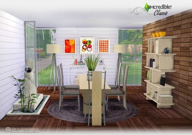 CLASSIS DININGROOM AT SIMCREDIBLE! DESIGNS 4