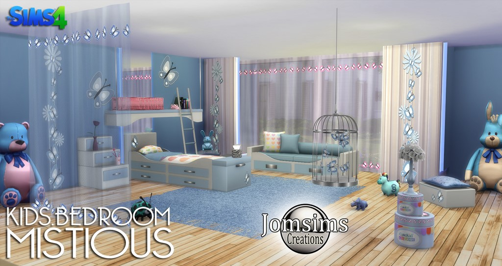 NEW MISTIOUS KIDS Kids Bedroom  By jomsimscreations