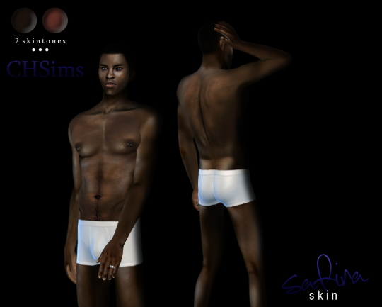 Safira Skin (male version) by Charactersassims