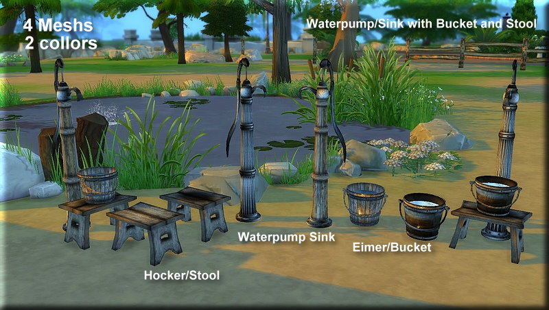 Waterpump Sink Set by Asyli