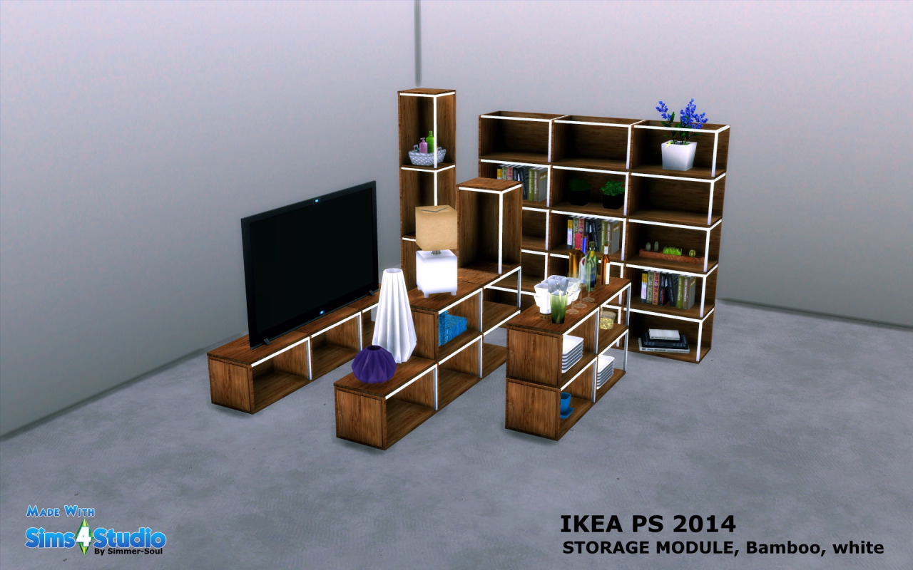 IKEA PS 2014 Storage Module by SimmerSoul