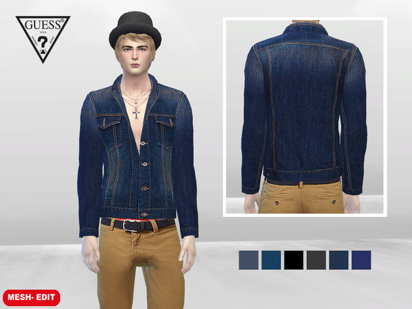 Daytona Outdoor Denim Jacket by McLayneSims