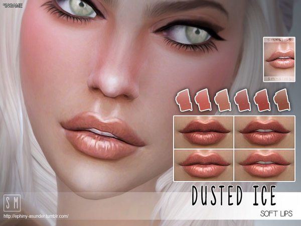 [ Dusted Ice ] - Soft lips by Screaming Mustard