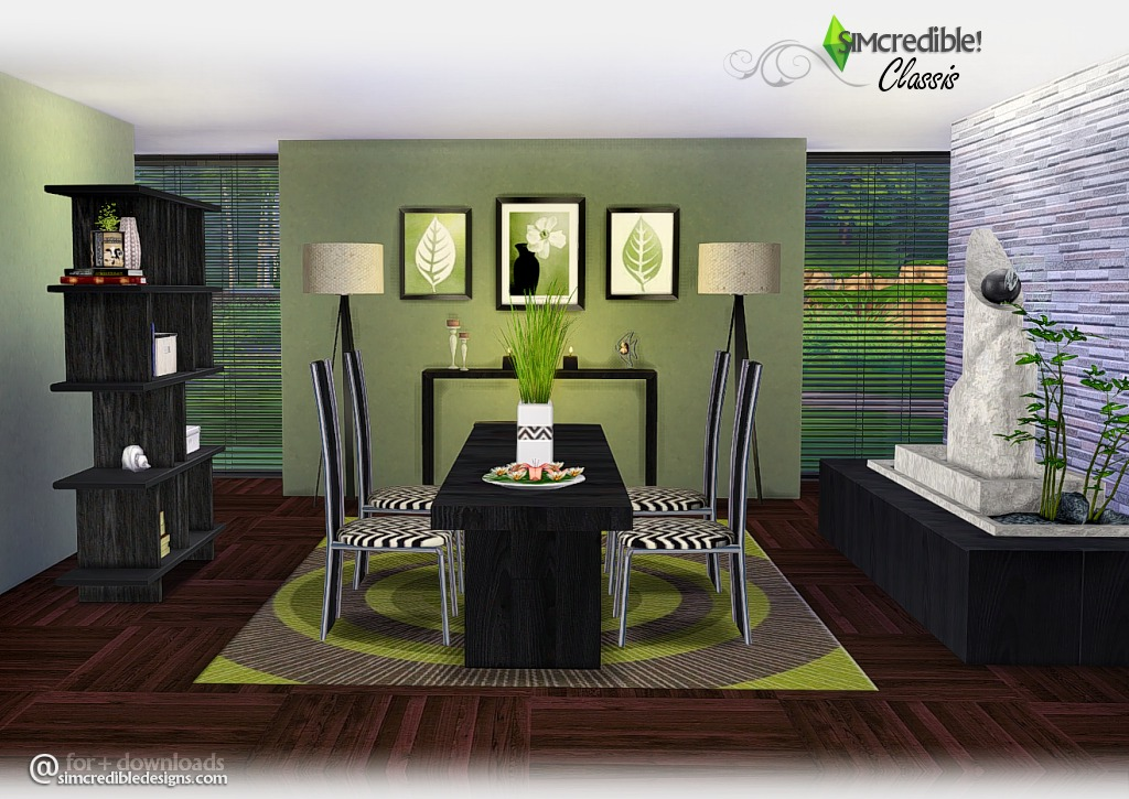 Classis Dining Set by Simcredible Designs