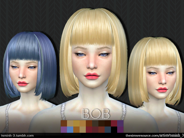 BOB  Hairstyle 1 by tsminh_3