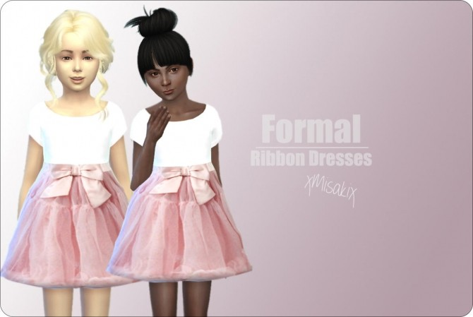 Ribbon Dresses at xMisakix Sims