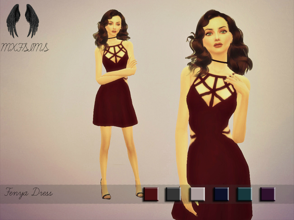 Fenya Dress by mxfsims
