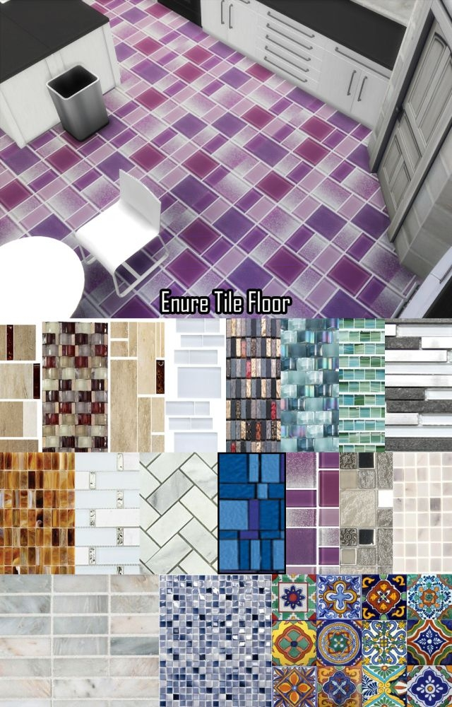 Tile Floor & Tile Walls by EnureSims