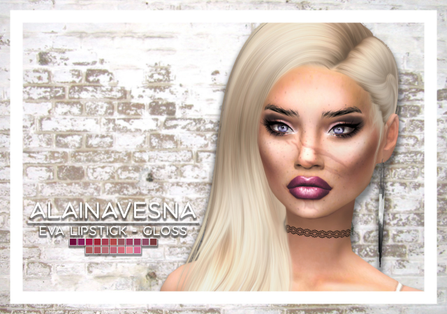 Eva Lipstick Collection by alainavesna