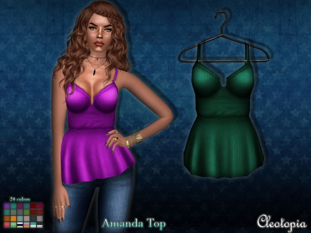 Amanda Top by Cleotopia