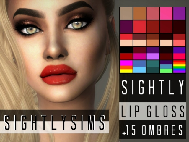 Sightly Lip Gloss by SightlySims
