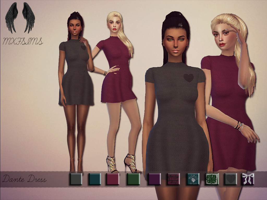 Dante Dress by mxfsims