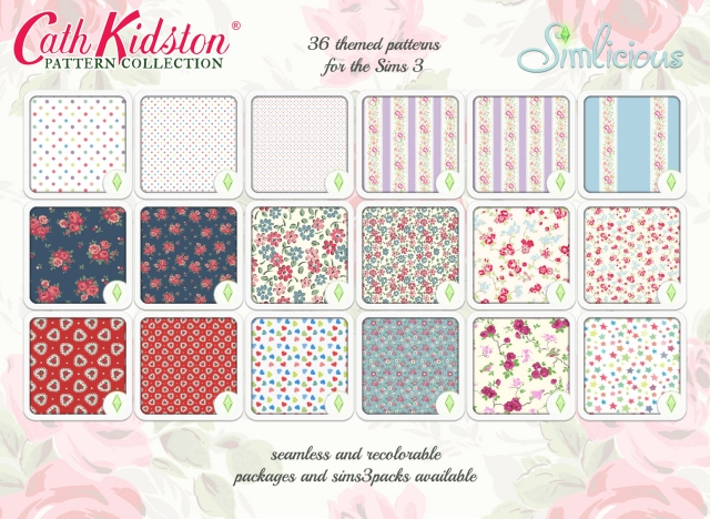 Cath Kidston Pattern Collection by Simlicious