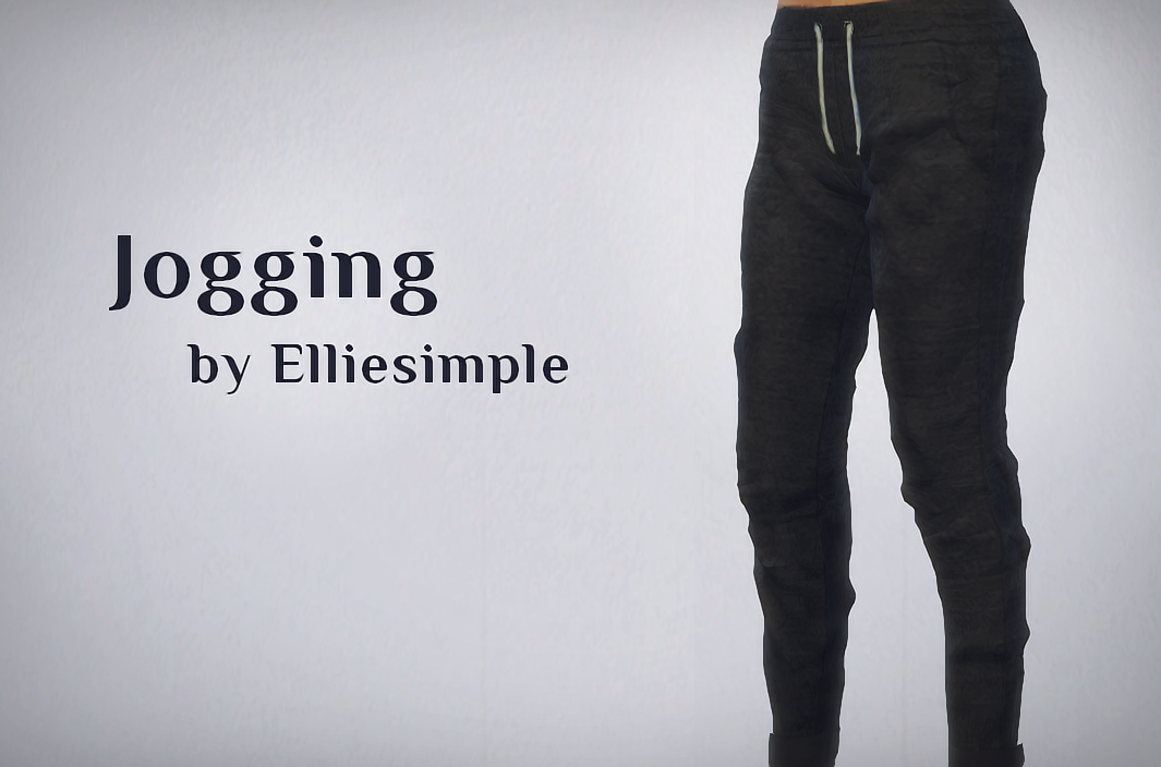 Jogging Pants in 8 Colors for Females by EllieSimple