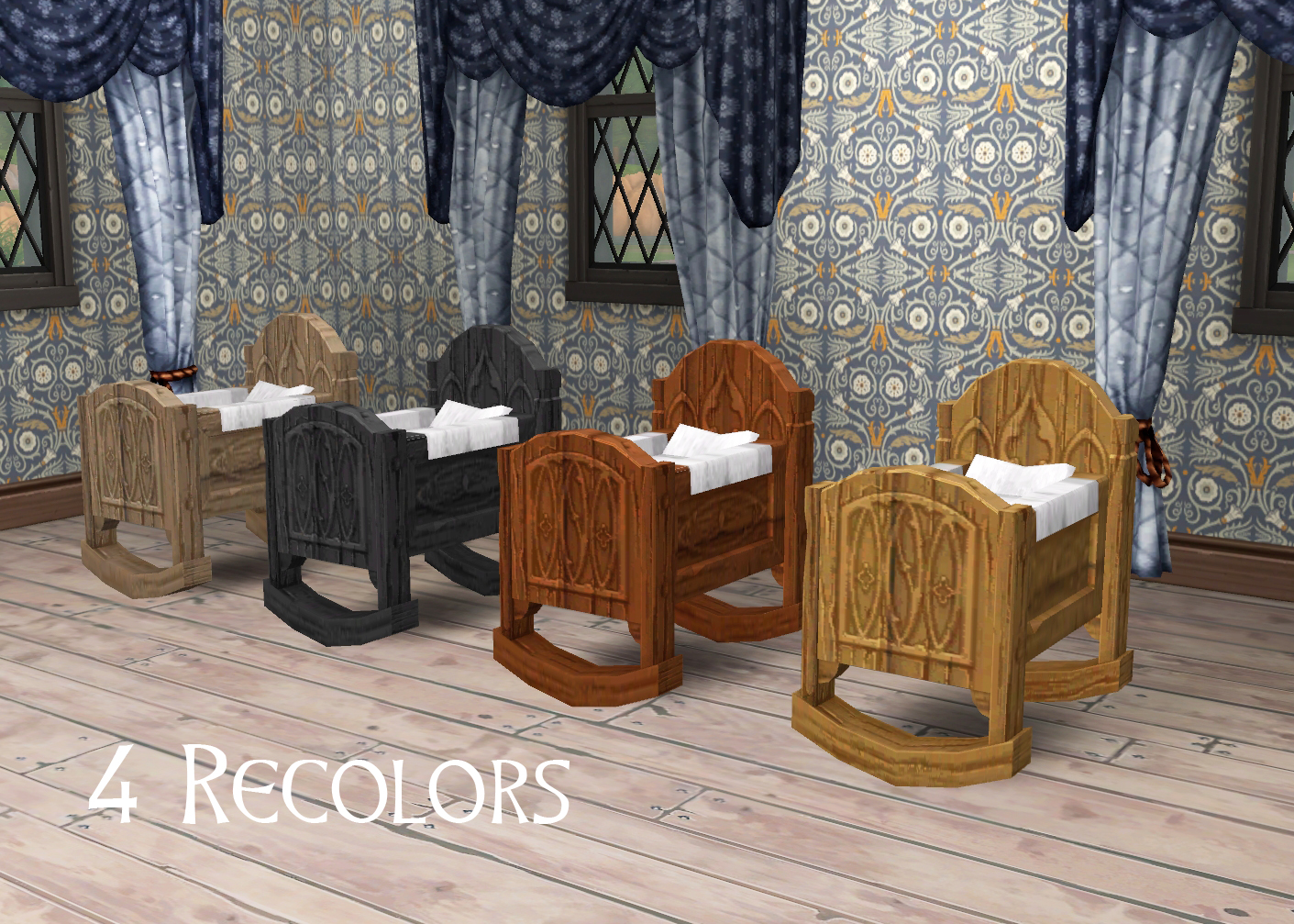 Medieval Middle Class Cradle by Historical Sims Life