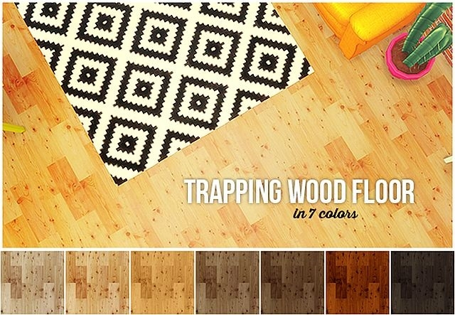 Trapping wood floor conversion by LinaCherie