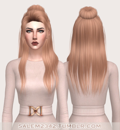 Sinti Hair (TS4) by salem2342
