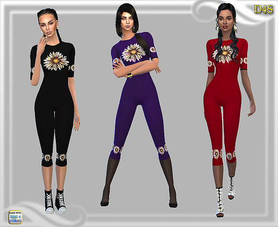 PushingUPDaisies - Jumpsuit by  dreaming4sims