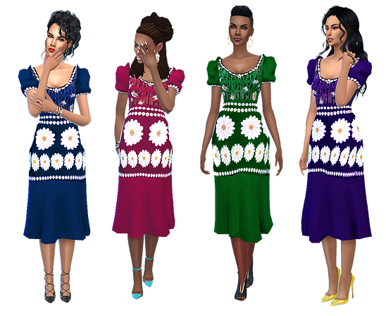Cecil Dress  by dreaming4sims