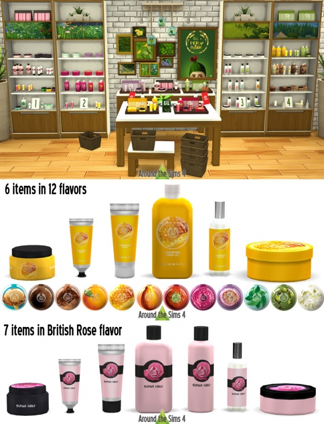 The Body Shop Set by Sandy