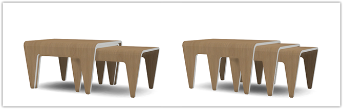 TS3 Nesting Tables Conversion by 13Pumpkin31