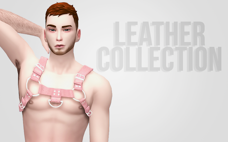 Leather Harness Collection by BubblegumSim