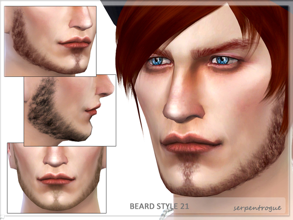 Beard Style 21 by Serpentrogue