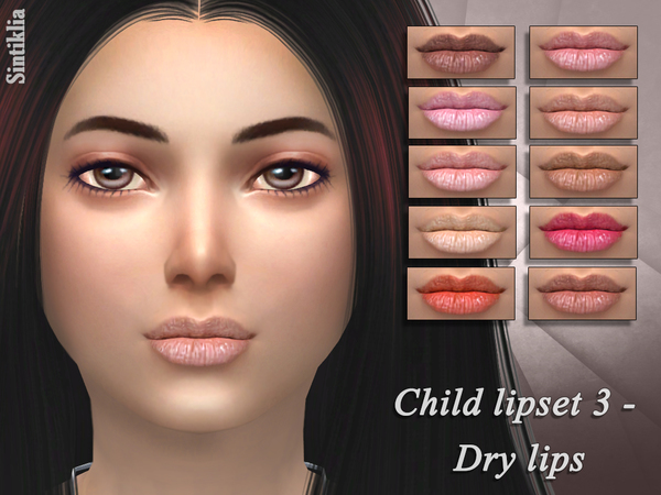 Sintiklia - Child lipset 3 Dry lips