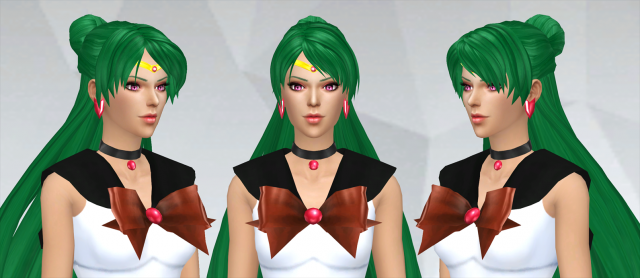 Setsuna's Hairstyle by SilverMoon