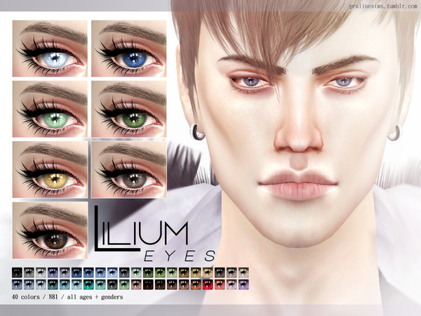 Lilium Eyes N81 by Pralinesims