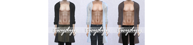 New Top for Males - Two Versions by Twydyy