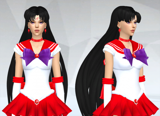 Sailor Mars's Accessories by SilverMoon