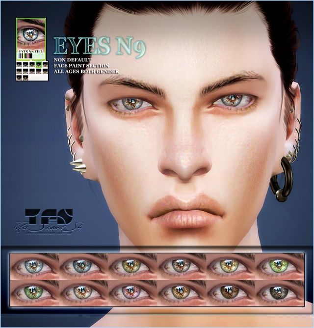 S4 Eyes #9 ND by Tifa