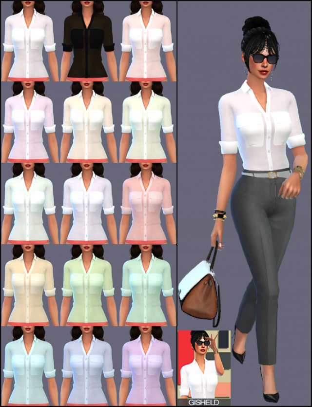 Simple Woman Blouse by Gisheld