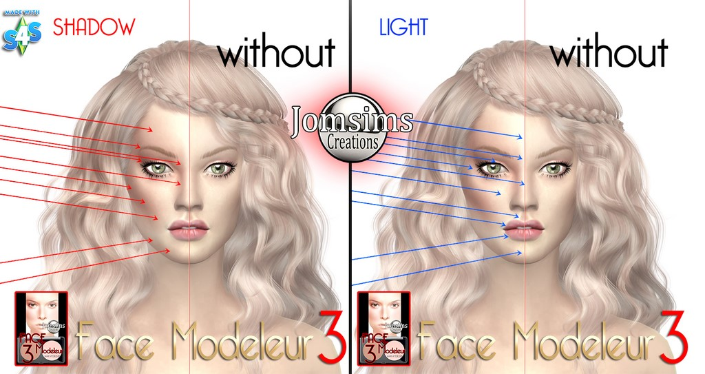 Face Highlight Blush by JomSims