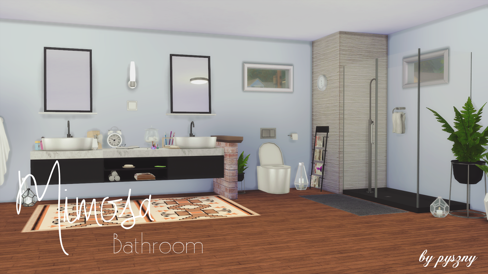 Mimosa Bathroom Set by Pyszny