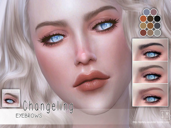 [ Changeling ] - Female Brows by Screaming Mustard