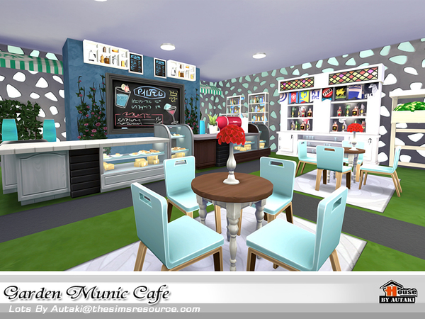 Garden Munic Cafe by autaki