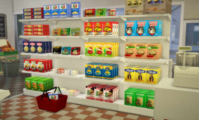 Food Store Stuff by Budgie2budgie