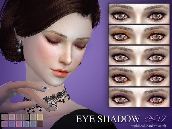 S-Club LL ts4 eyeshadow 12