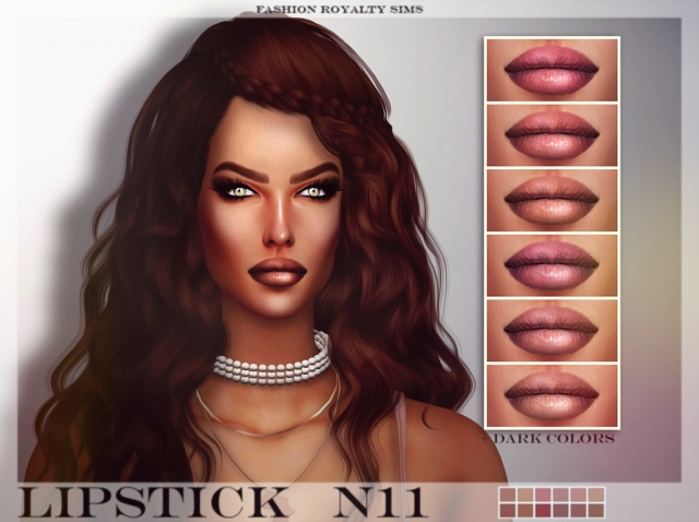 Lipstick N11 by FashionRoyaltySims