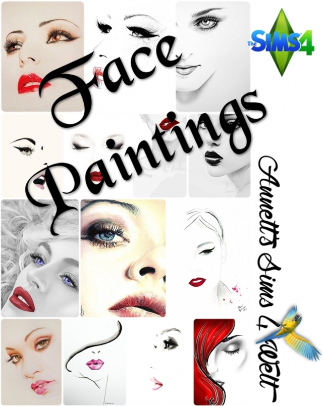 Face Paintings by Annett85