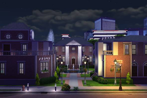 Newcrest University Quad by Kawaiibuzz
