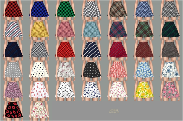Skater Mini Skirt v2 (pattern) by marigold
