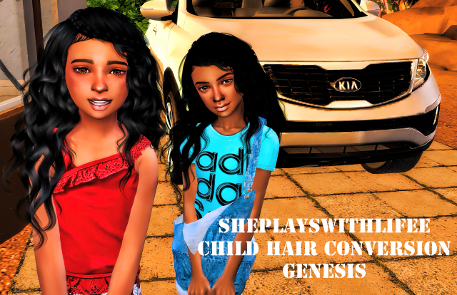 Stealthic Genesis Hair by sheplayswithlifeee