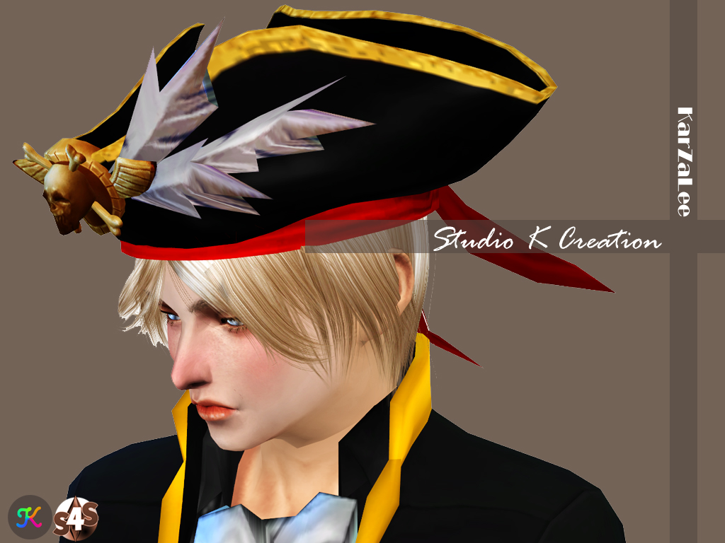 Pirate Hat for female and male by KarZaLee