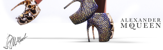 Alexander McQueen Armadillo Shoes by MrAntonieddu