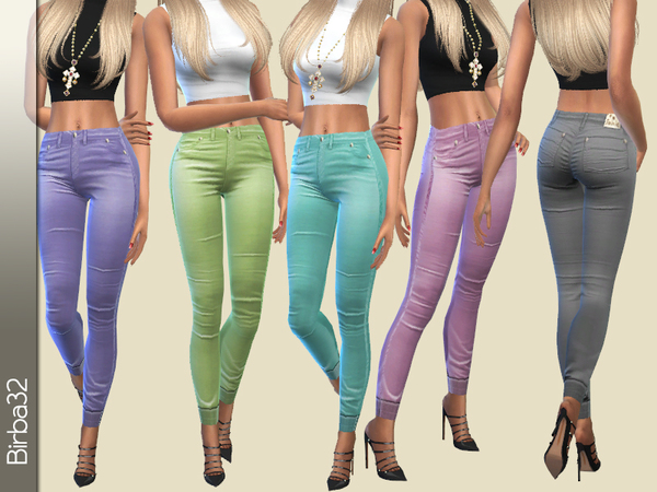 Spring Colorful Pants by Birba32